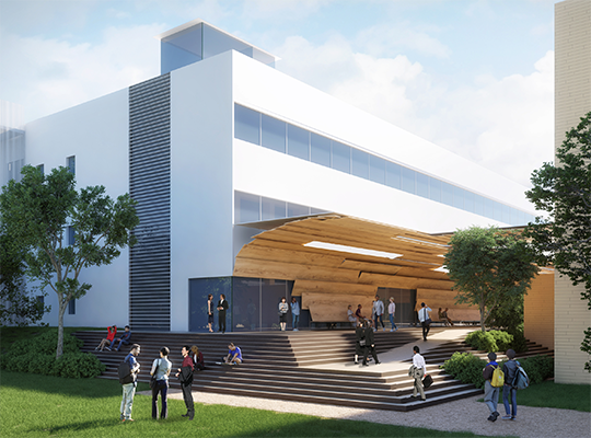 Fundraising for Construction of the New Educational Facility