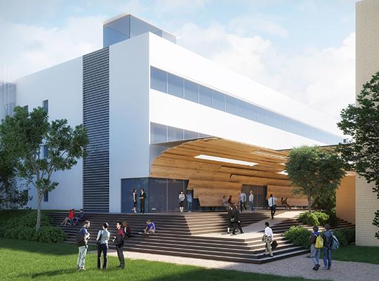教育施設の整備 新館建設募金