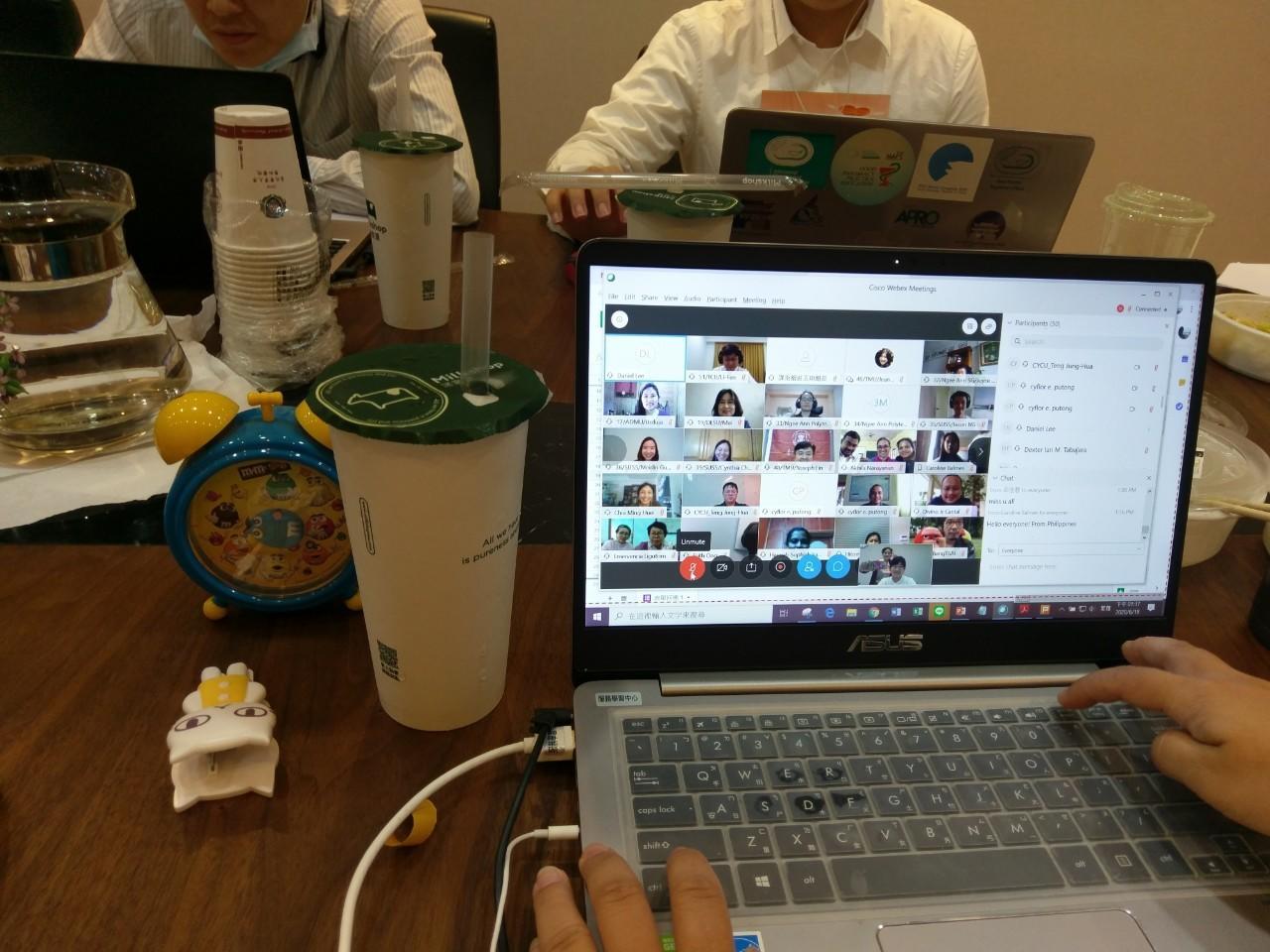 アジアのパートナー大学と共に「SLAN会議」に出席しました